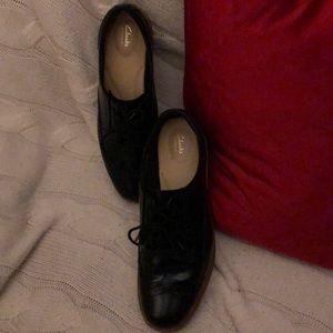 Clark's women's wedge Oxford shoe